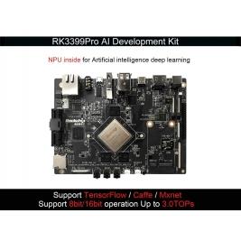 Toybrick RK3399Pro AI Developer Kit -3G+16GB eMMC Base