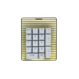 DUMANG Mini Mechanical Keyboard with Magnet - Custom Value and M