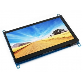 7inch HDMI LCD (H), 1024x600, IPS, supports various systems, cap