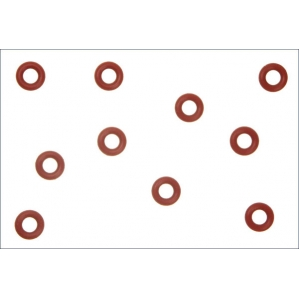 Silicone O-Ring(P4/Orange) 10Pcs - ORG04