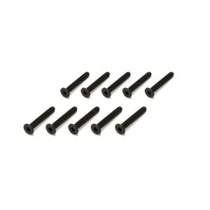 TP Flat Head Screw(Hex/M3x20/10pcs) - 1-S33020TPH