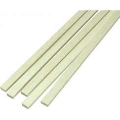 Listello pino rettangolare 3x5x1000 mm
