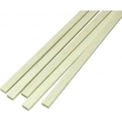 Listello pino rettangolare 5x20x1000 mm