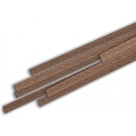 Listello noce rettangolare 1x10x1000 mm