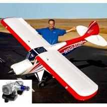 Carbon Cub FX-3 100-200cc ARF 420cm Aeromodello riproduzione + D
