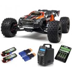 Kraton 1/5 4X4 8S BLX Brushless Speed Monster Truck RTR, Arancio