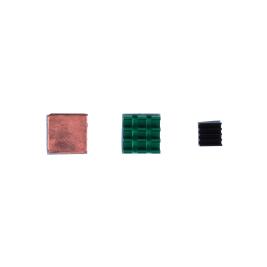 Heat Sink Kit for Raspberry Pi - Copper/Aluminum
