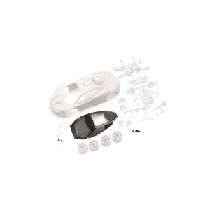 McLaren P1 GTR White body set(w/Wheel) - MZN190