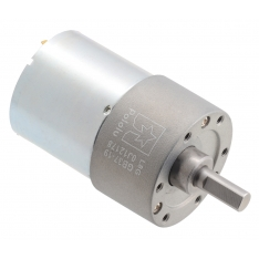 19:1 Metal Gearmotor 37Dx52L mm 24V (Helical Pinion)