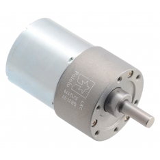 30:1 Metal Gearmotor 37Dx52L mm 24V (Helical Pinion)