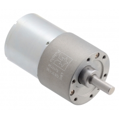 150:1 Metal Gearmotor 37Dx57L mm 24V (Helical Pinion)