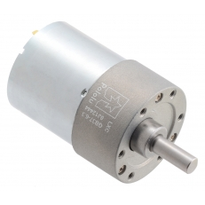 6.3:1 Metal Gearmotor 37Dx50L mm 24V (Helical Pinion)