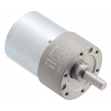 10:1 Metal Gearmotor 37Dx50L mm 24V (Helical Pinion)