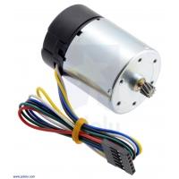 24V Motor with 64 CPR Encoder for 37D mm Metal Gearmotors (No Ge