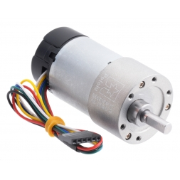 30:1 Metal Gearmotor 37Dx68L mm 12V with 64 CPR Encoder (Helical