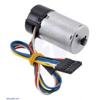 HP 6V Motor with 48 CPR Encoder for 25D mm Metal Gearmotors (No