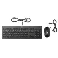 HP T6T83AA Kit Tastiera Slim USB + Mouse