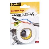 3M SCOTCH ELECTRICAL TAPE NASTRO ISOLANTE IN PVC 15MMx10M COLORE
