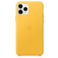 APPLE iPHONE 11 PRO COVER IN PELLE COLORE GIALLO