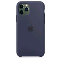 APPLE iPHONE 11 PRO COVER IN SILICONE COLORE BLU
