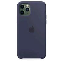 APPLE iPHONE 11 PRO COVER IN SILICONE COLORE BLU