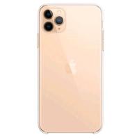 APPLE iPHONE 11 PRO MAX COVER CLEAR CASE IN TPU TRASPARENTE