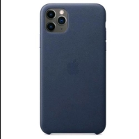 APPLE iPHONE 11 PRO MAX COVER IN PELLE COLORE BLU