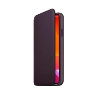 APPLE iPHONE 11 PRO MAX CUSTODIA IN PELLE COLORE VIOLA