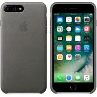 APPLE iPHONE 7 PLUS COVER ORIGINALE IN PELLE COLORE GRIGIO
