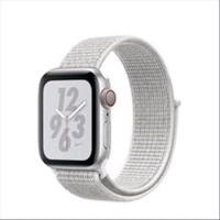 APPLE WATCH NIKE+ SERIE 4 GPS + CELLULAR CASSA 40mm ALLUMINIO AR