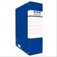 BREFIOCART ARCHIVIO PROGETTO NEWCOLOR D6 MM60X350X250 COL. BLU C