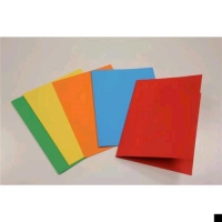 BREFIOCART COLOR CARTELLINE IN CARTONCINO 250X350MM A4 COL.GIALL