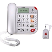 BRONDI SUPER BRAVO PLUS TELEFONO ANALOGICO CON TELECOMANDO SOS B