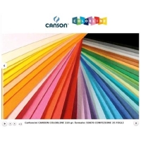 CANSON COLORLINE CARTONCINI COLORATI 50X70 mm 220 GR COL. FUCSIA