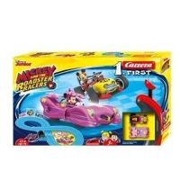 CARRERA FIRST MICKEY AND THE ROADSTER RACERS - MINNIE PISTA 2.4M