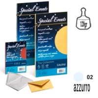 CARTOTECNICA FAVINI SPECIAL EVENTS 10 BUSTE 120 GR 11X22 COLORE
