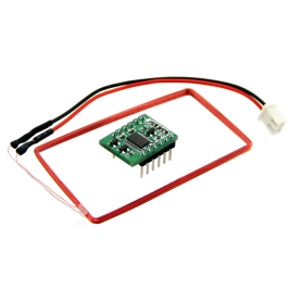 Mini 125Khz RFID Module - External LED/Buzzer Port (70mm Reading
