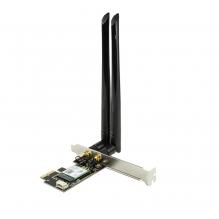 Scheda PCI Express Wi-Fi 6 & Bluetooth v5.0