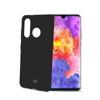 CELLY HUAWEI P30 LITE COVER IN SILICONE SOFT-TOUCH NERO