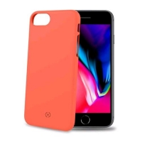 CELLY iPHONE 7/8 COVER SHOCK IN TPU SOFT TOUCH COLORE ARANCIONE