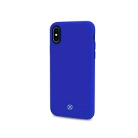 CELLY iPHONE X COVER IN SILICONE SOFT-TOUCH COLORE BLU