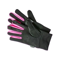 CELLY SPORT TOUCH GLOVES GUANTI TOUCH BLACK PINK