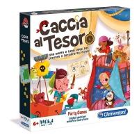 CLEMENTONI PARTY GAMES - CACCIA AL TESORO GIOCO DI SOCIETA  BAMB
