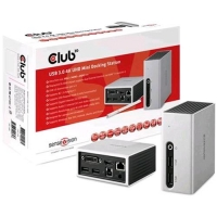 CLUB3D DOCKING STATION USB 3.0 4K30HZ UHD MINI USB TYPE A 3.0 4K