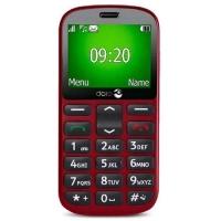 "DORO 1361 DUAL SIM 2.4"" EASY PHONE ITALIA RED"
