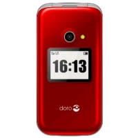 "DORO 2424 EASY PHONE 2.4"" CLAMSHELL CON DOPPIO DISPLAY FOTOCAMER"