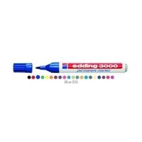 EDDING 3000 MARCATORE PERMANTE BLU PUNTA CONICA 1.50/3 mm CONF 1