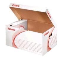 ESSELTE BOXY CONTAINER SCATOLA ARCHIVIO 265X560 mm COL. BIANCO C