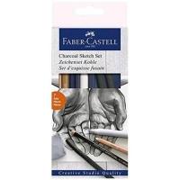 FABER CASTELL GOLDFABER CHARCOAL SKETCH SET CONF. 7 Pz.