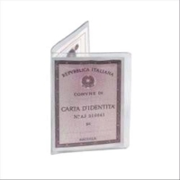 FAVORIT ESPOSITORE PORTA CARTA IDENTITA  165X125MM COLORE TRASPA